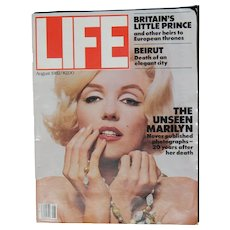 LIFE Magazine - Marilyn Monroe - Aug. 1982 - special photos