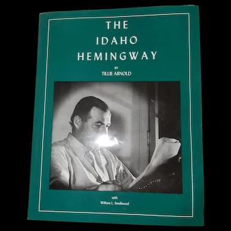 Book: The Idaho Hemingway - Tillie Arnold - paperback