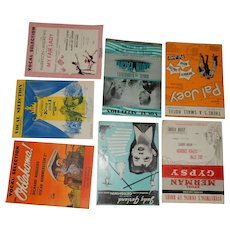 Sheet Music: 9 Shows & Movies - 20th Century