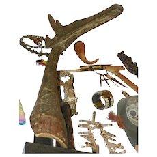 Antelope Headress-Mask, Upper Volta (Burkina Faso) - Kurumba - Vintage African Art