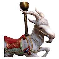 Remarkable Cybis Porcelain Carousel Goat