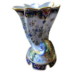 Brilliant French Desvres Faience Fourmaintraux 19th Century