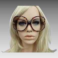 50641cd293be Paola Belle Frames Eyeglasses Sunglasses 1970s Faux Tortoiseshell France.  Vanity Flair Vintage