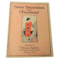 Flapper Fashions Book Vintage 1920s Dress Decoration and Ornament
