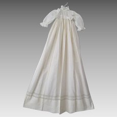 Antique Edwardian Baby Christening Gown