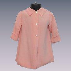 Pink Silk Girls Jacket Vintage 1930s