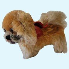 Steiff Peky Pekingese Dog Stuffed Animal