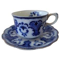 Alton Flow Blue Cup & Saucer