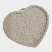 Pampered Chef Gardens Of The Heart Cookie Mold