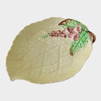 Carlton Ware Foxglove Leaf Shaped Dish