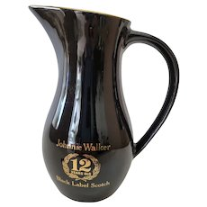 Wade England Johnnie Walker 12 Years Old Black Label Scotch Pitcher