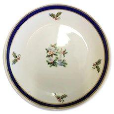 Homer Laughlin Restaurant Ware Christmas Plate