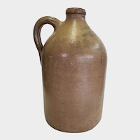 New York City Stoneware Handled Jug Druggist J & J.F. Trippe