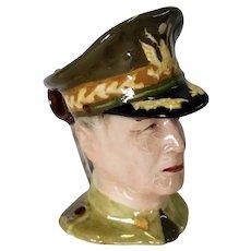 Royal Winton Grimwades General MacArthur Miniature Toby Mug