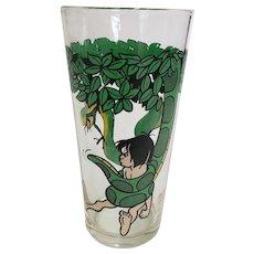 Vintage 1970's Disney Jungle Book Kaa Pepsi Collector Glass