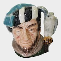 Royal Doulton Small Toby Jug The Falconer D 6547 1959