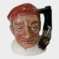 Royal Doulton Small Toby Mug Bootmaker D 6586 1962