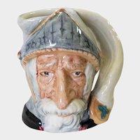 Royal Doulton Small Toby Jug Don Quixote D 6511 1956