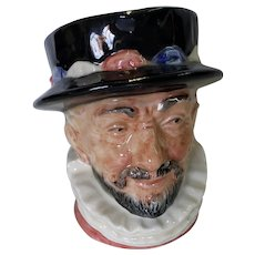 Royal Doulton Small Toby Jug Beefeater 6233 1946