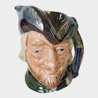 Royal Doulton Small Toby Mug Robin Hood D 6541 1959