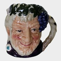 Royal Doulton Small Toby Mug Bacchus D 6521 1958