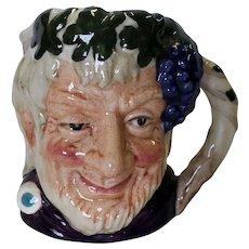 Royal Doulton Small Toby Mug Bacchus D 6521 1958