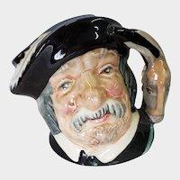 Royal Doulton Small Toby Mug Sancho Panca D 6518 1956