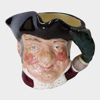 Royal Doulton Small Toby Mug Mine Host D 6513 1957