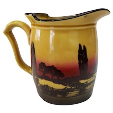 Royal Doulton England Scenic Pitcher