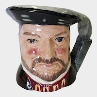 Royal Doulton Small Toby Mug Henry VIII D 6648 1975
