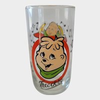 1985 Alvin & The Chipmunks Collector Glass - Theodore