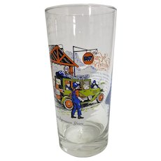 Gulf Gasoline Collector Glass - The Great Depression Years
