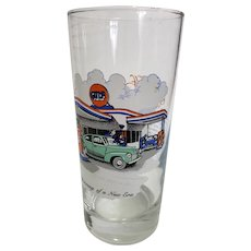 Gulf Gasoline Collector Glass - The Dawning of a New Era