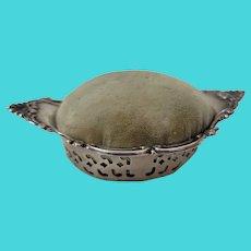 Gorham Sterling Silver Pincushion Pin Dish