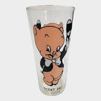 Vintage 1973 Porky Pig Pepsi Collector Glass
