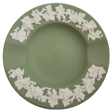 Wedgwood Green Jasperware Ashtray