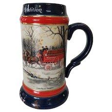 1990 Budweiser Stein An American Tradition Ceramarte