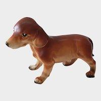 Vintage Japan Dachshund Puppy Figurine