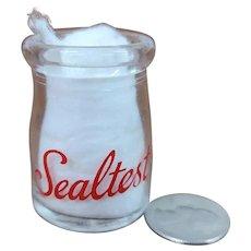 Vintage Individual Cream Bottle Sealtest Dairy Milk Bottle