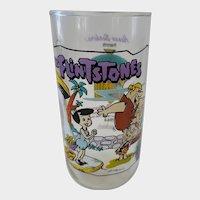 1991 Hardee's Flintones Collector Glass - Little Bamm Bamm