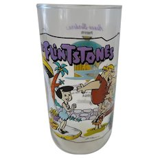 1991 Hardee's Flintones Collector Glass - Little Bamm Bamm