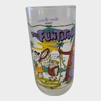 1991 Hardee's Flintones Collector Glass - The Snorkasaurus Story