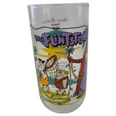 1991 Hardee's Flintones Collector Glass - The Snorkasaurus Story