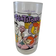 1991 Hardee's Flintones Collector Glass - The Blessed Event