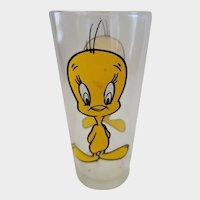 1973 Pepsi Collector Glass Tweety Bird