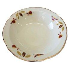 """Hall Autumn Leaf Jewel Tea 6 1/8"""" Cereal Bowl"""