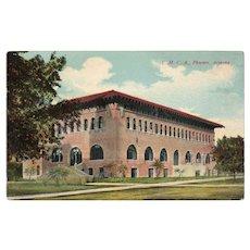 ca 1910 YMCA Building Phoenix Arizona AZ Street View Postcard