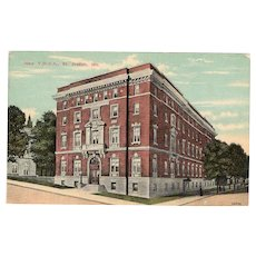 ca 1910 New YMCA Building St Joseph MO Street View Postcard