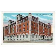 ca 1930 YMCA Building Shreveport LA Louisiana Street View Postcard