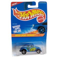 1995 Hot Wheels Mod Bod Series #3 of 4 VW Bug #398